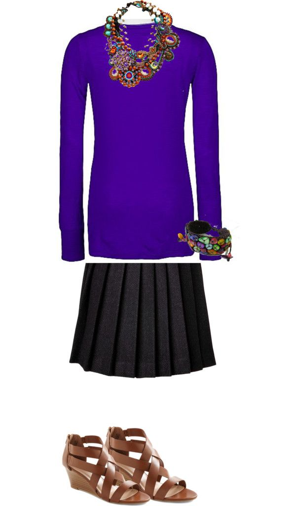 Visit From the Corporate Office Today, created by bsewinglady on Polyvore