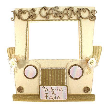 Proyectos |Mega marco auto para boda | Marcos para fiestas ...