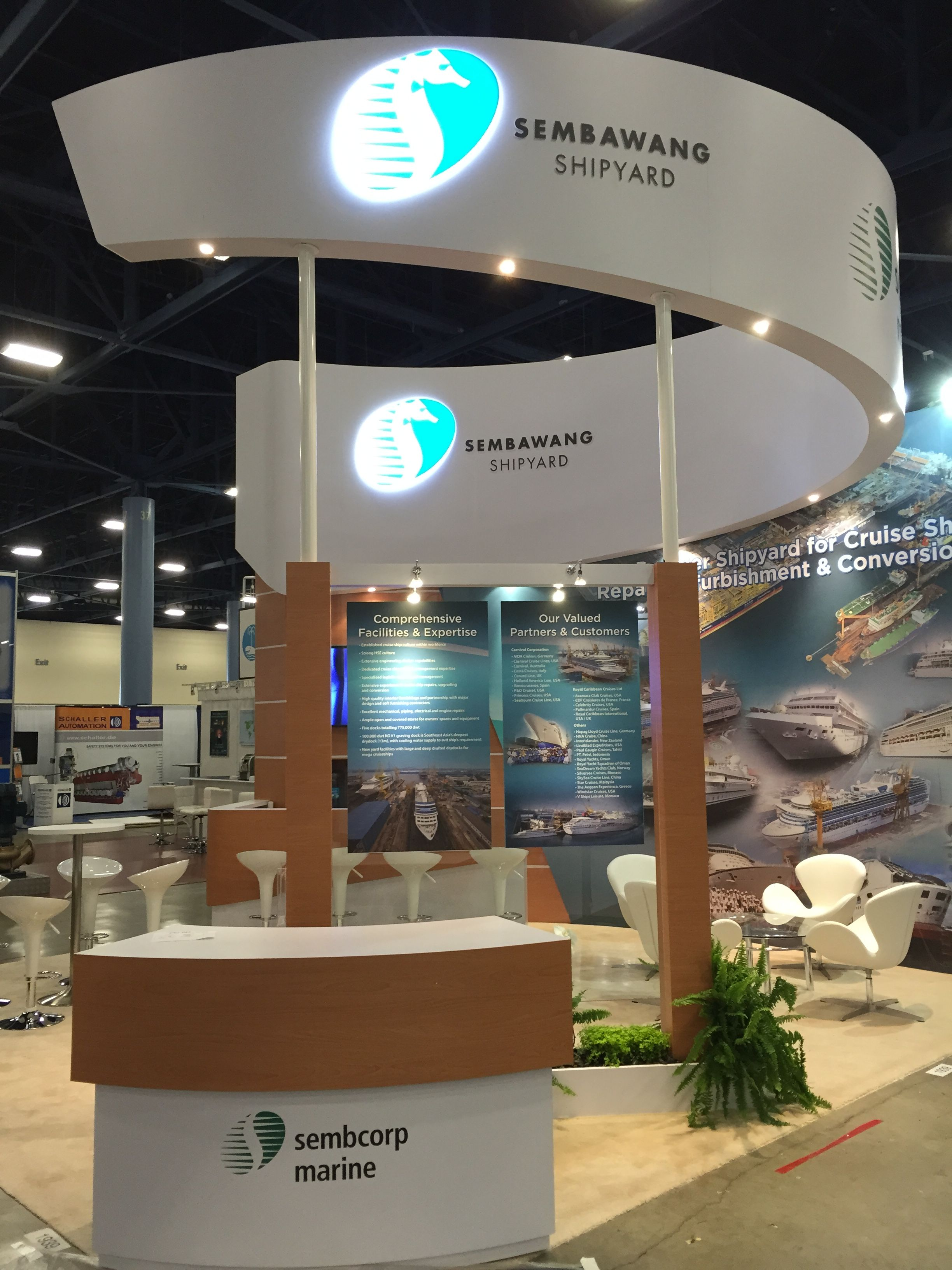 What A Beautiful Exhibit At The Amazing Cruise Shipping Miami 2015 Trade Show