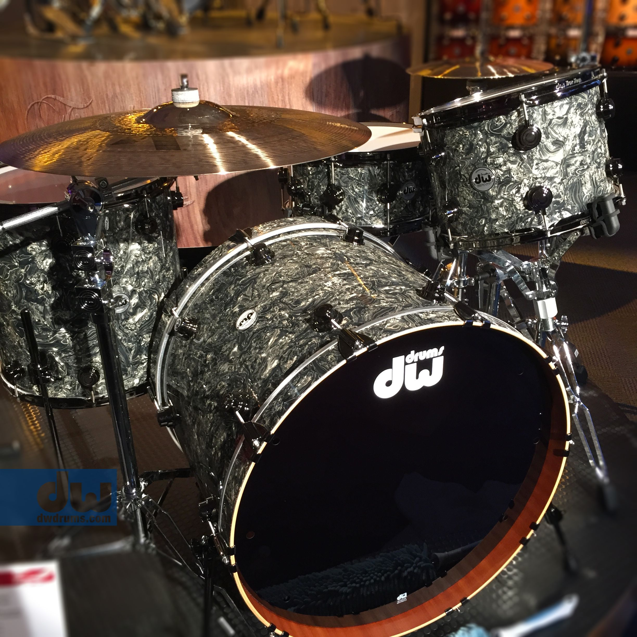 Namm15 Silver Abalone Drums Drum Kits Best Drums