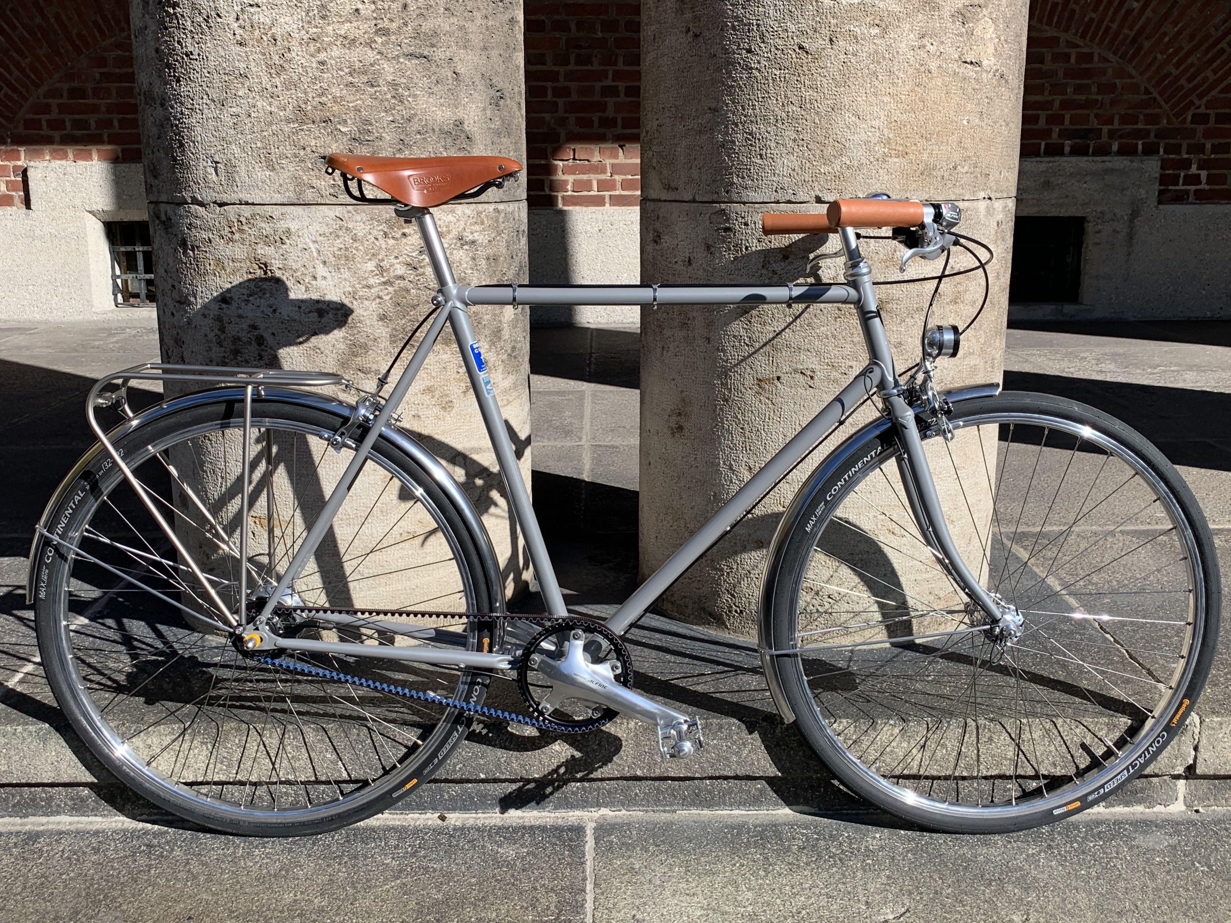 Bella Ciao Ingegnere Z Fahrradmarken Rad Stahlrahmen