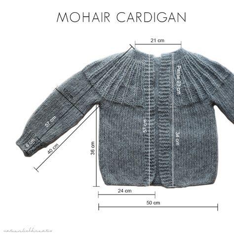 Photo of natürlich kreativ: Anleitung für Mohair Fleece Cardigan