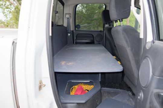 Back Seat Storage Solutions Truck Stuff Pinterest