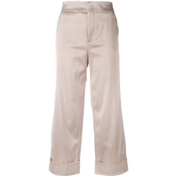 straight-leg trousers - Pink & Purple PT01 eTjpcLm