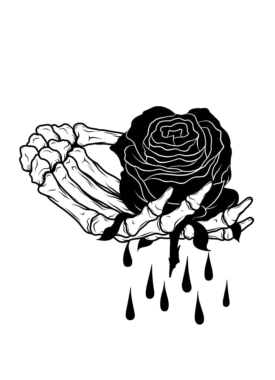 Dead Rose Eskizy Tatuirovok Tatuirovki