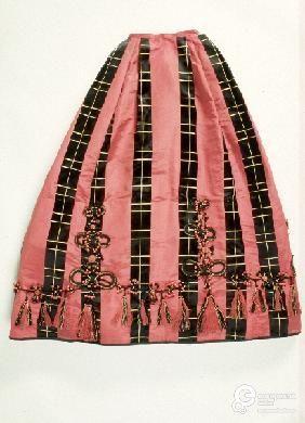 Falda, ca. 1865-1868