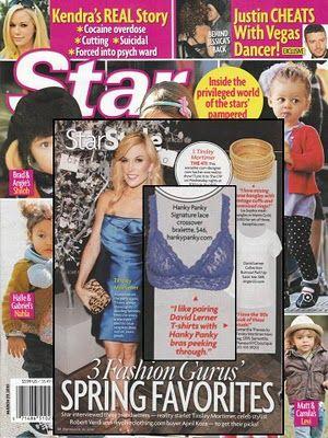 Tinsley Mortimer. Star Magazine, March 29, 2010