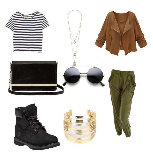 """""""Untitled #444"""" by aatk on Polyvore featuring Enza Costa, Diane Von Furstenberg, Timberland, WithChic, women's clothing, women's fashion, women, female, woman and misses"""