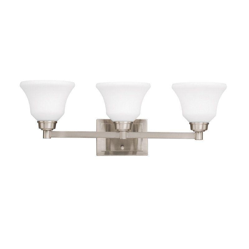"Bathroom Lighting Fixtures Kichler kichler 5390 langford 26.5"" wide single-bulb bathroom lighting"