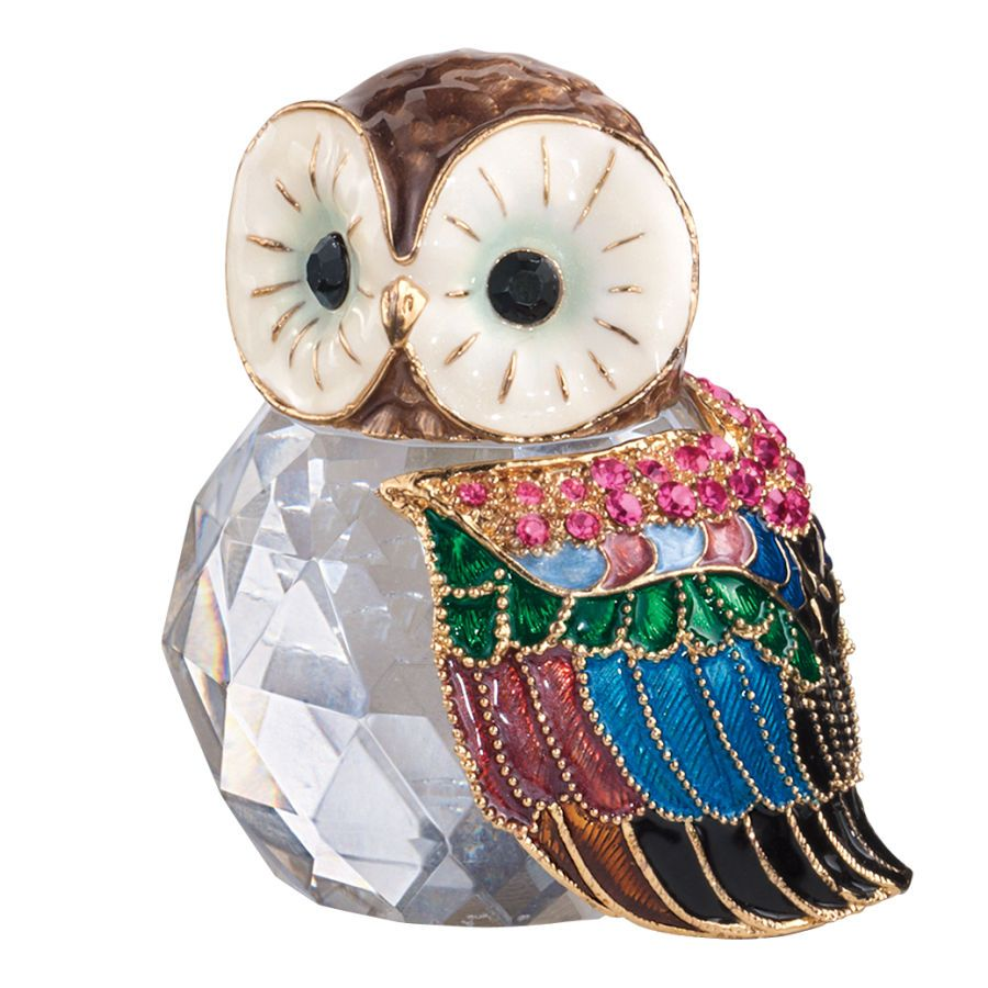 Glass Owl Figure - Gifts, Clothing, Jewelry, Home Decor and Home Furnishings - Unique and Affordable Gifts   Potpourri Gift