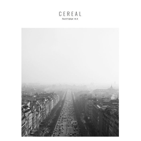 Cereal is a quarterly magazine providing a curated selection of travel destinations and lifestyle features. In the fifth volume of Cereal, the team travels to Helsinki, Finland