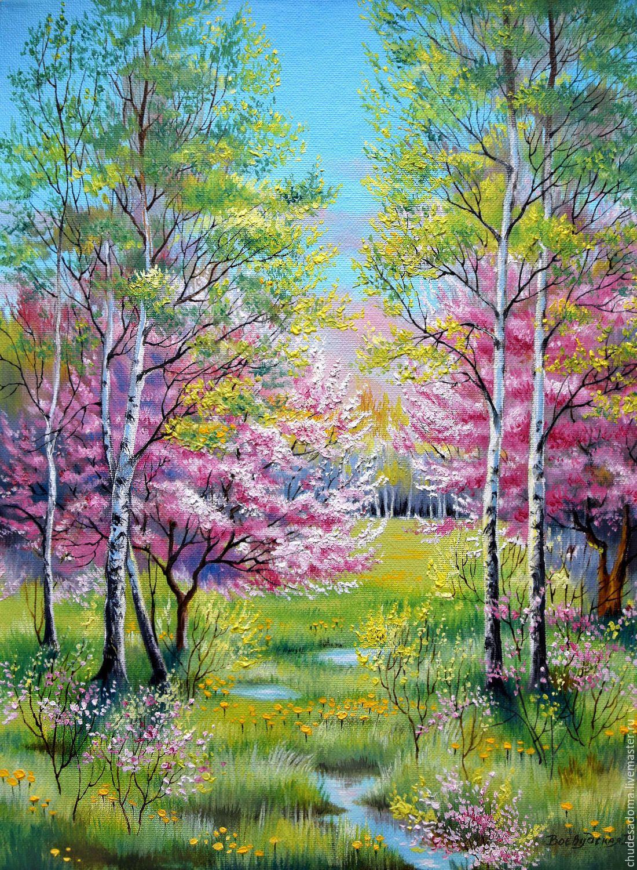 Картинки про весенний пейзаж