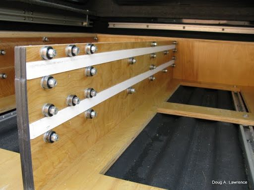 How To Build A Custom Truck Bed Storage System Custom Truck Beds Truck Bed Storage Truck Bed