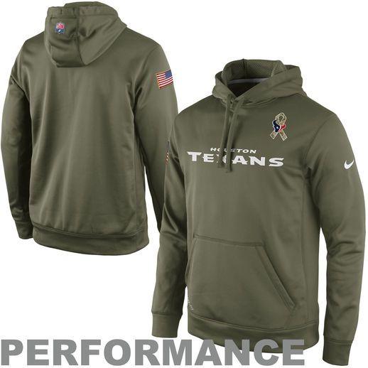 quality design 5ed7c 53d12 Nike Houston Texans Salute to Service KO Pullover ...