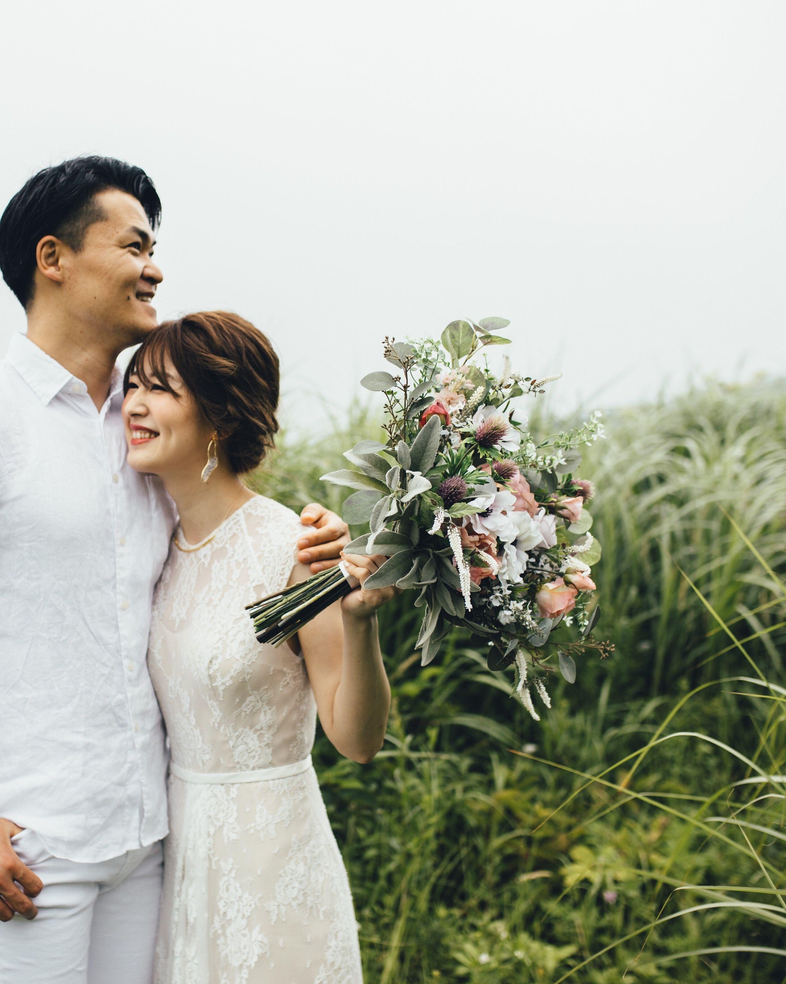 Photo of ウェディング 結婚式 前撮り 後撮り 出張ヘアメイクRUKKA(ルッカ) #ヘアアレンジ #ウエディングヘアメイク #ブ…