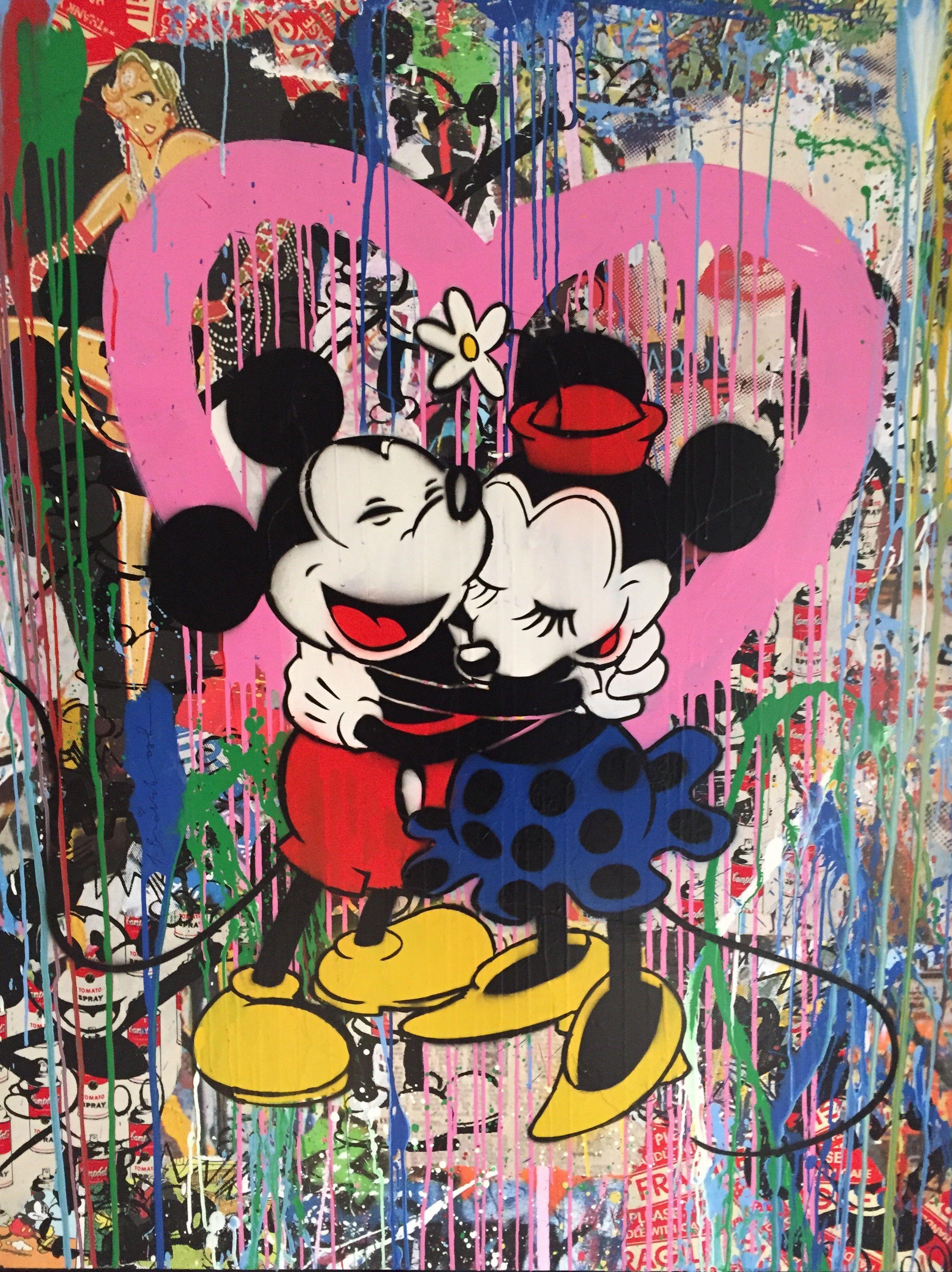 Mr brainwash galeries bartoux art pop urban for Mural painted by street artist mr brainwash