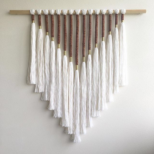Photo of DIY Yarn Wall Hanging – Oversized Boho Tapestry Tutorial