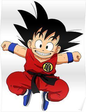 Kid Goku Poster