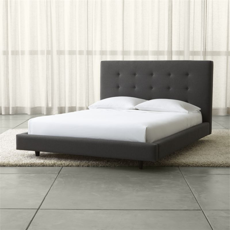 Tate Upholstered Bed 45 Quot In 2019 Beds Upholstered Beds