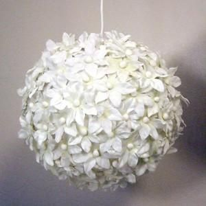 Paper Lantern Put Flowers Over Paper Lanterns From Ikea