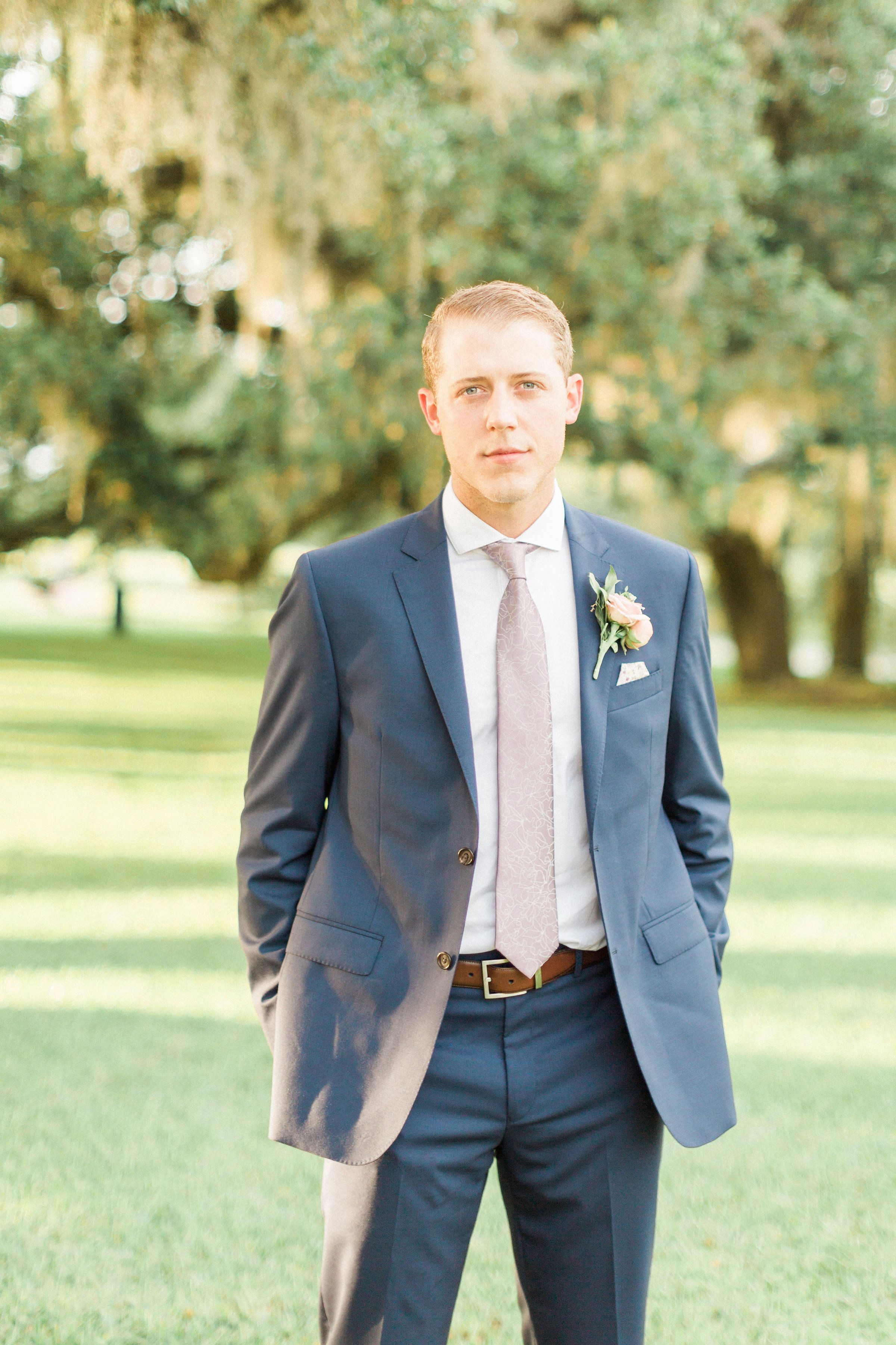 You\'ll Love This Nude Color Palette In Repose | Navy groom