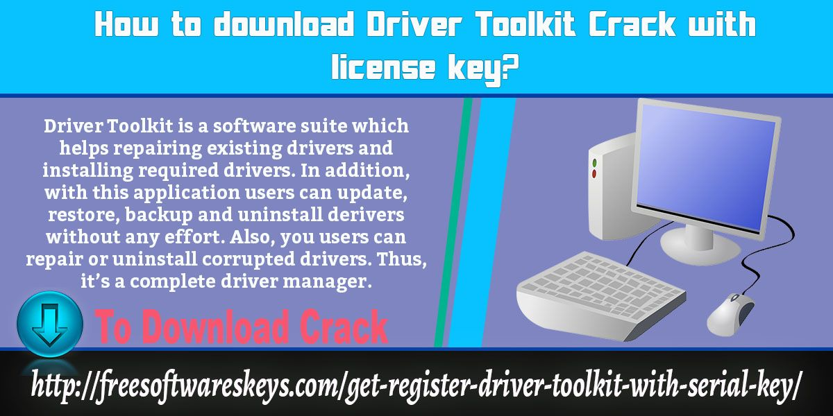 Pin on How To Crack Driver Toolkit 8.5 With License Key?