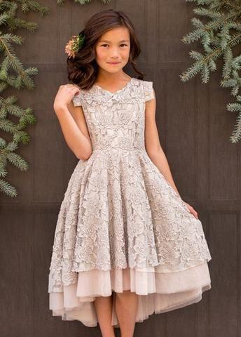 c20ab26feaedc Joyfolie Jacqueline Dress in silver | Jill's Baptism | Bridesmaid ...