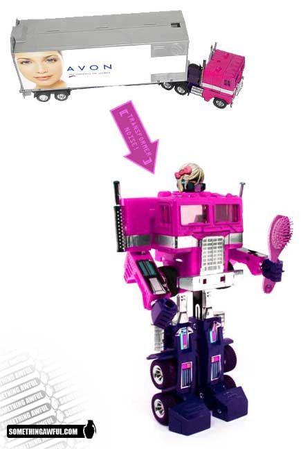 Les Transformers Pour Les Filles Les Robots Sont Sexistes So Funny There Is A Dildo Transformer Hahaha