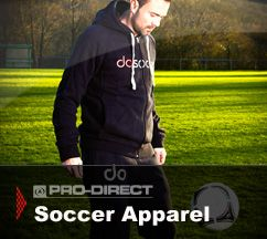Customize and Personalize your soccer clothing.
