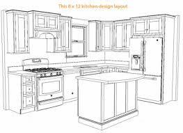 Bon Resultado De Imagen Para 10 X 8 Kitchen Layout