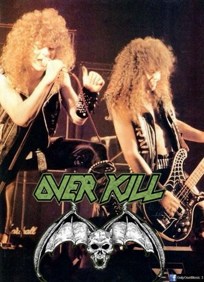 Overkill | About Me- My kind of Music \m/ | Metal bands