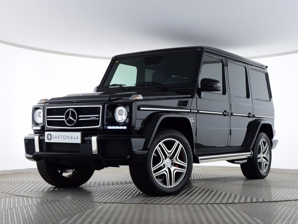 Mercedes benz g class 5 5 g63 amg 4x4 5dr suv image 1 for Mercedes benz amg suv