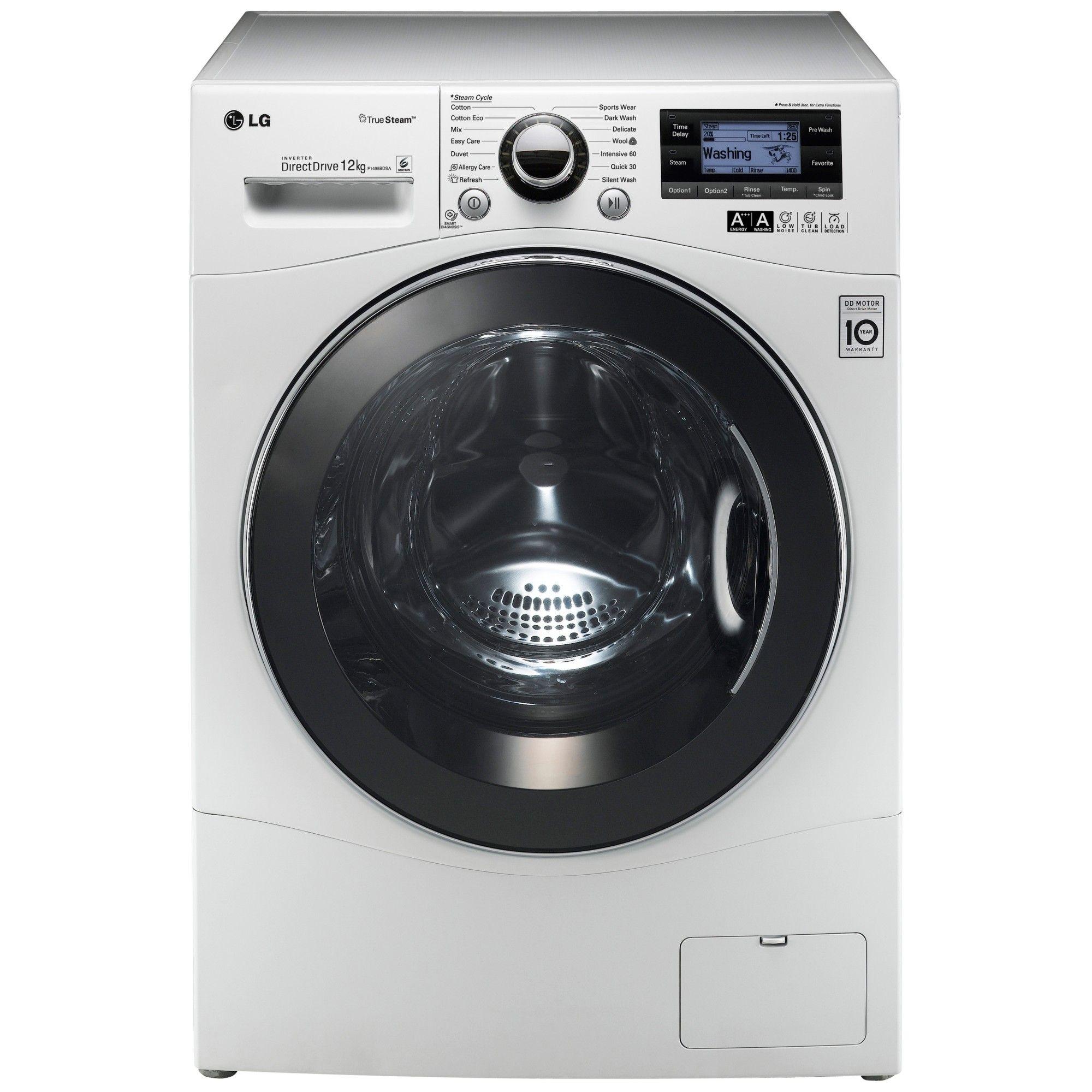 LG F1495BDSA 12kg 1400rpm Freestanding Washing Machine