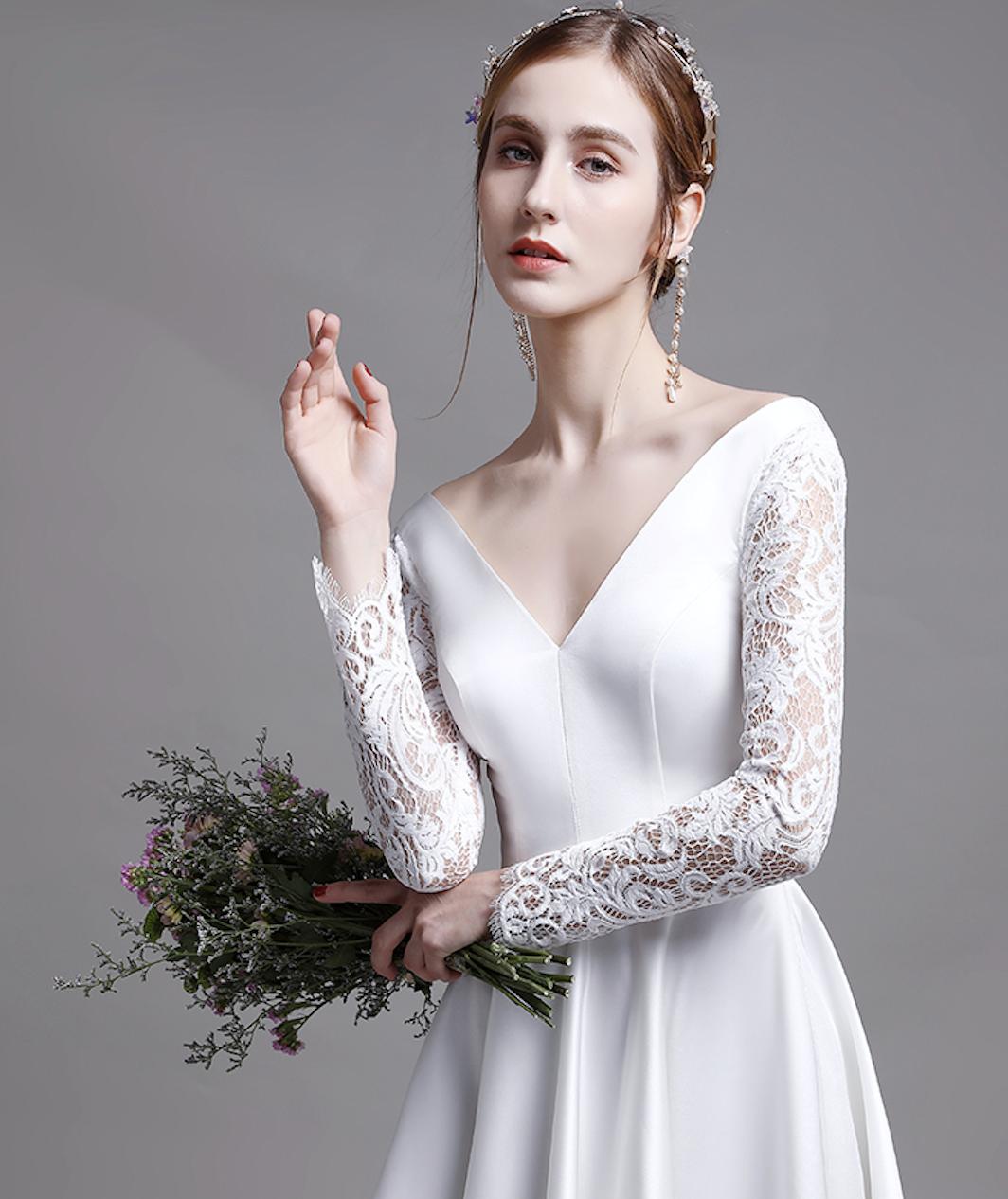Pin auf ALinie Brautkleider