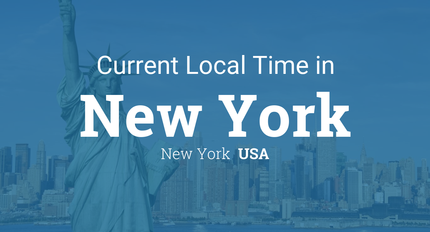 Current Local Time In Usa New York New York Get New York S Weather And Area Codes Time Zone And Dst Expl New York Weather Daylight Savings Time New York