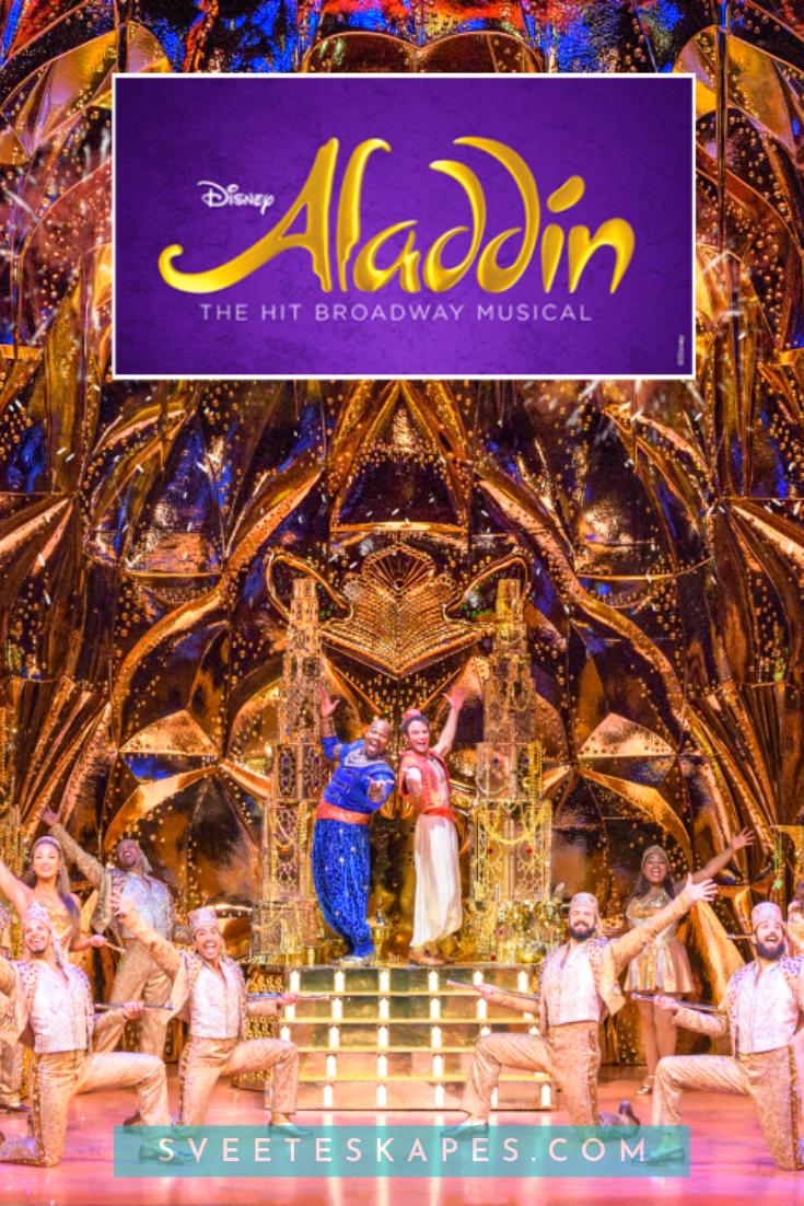 Aladdin The Broadway Musical 2019 Click To Get In The Magic Carpet And Learn Everything About The Disney Musi Aladdin Musical Aladdin Broadway Disney Musical