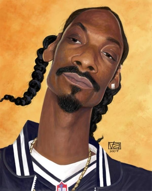 Snoop Dogg By Vincent Altamore Caricature Celebrity Caricatures