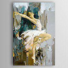 Resultado de imagen para cuadros pintados a mano en oleo for Cuadros horizontales modernos