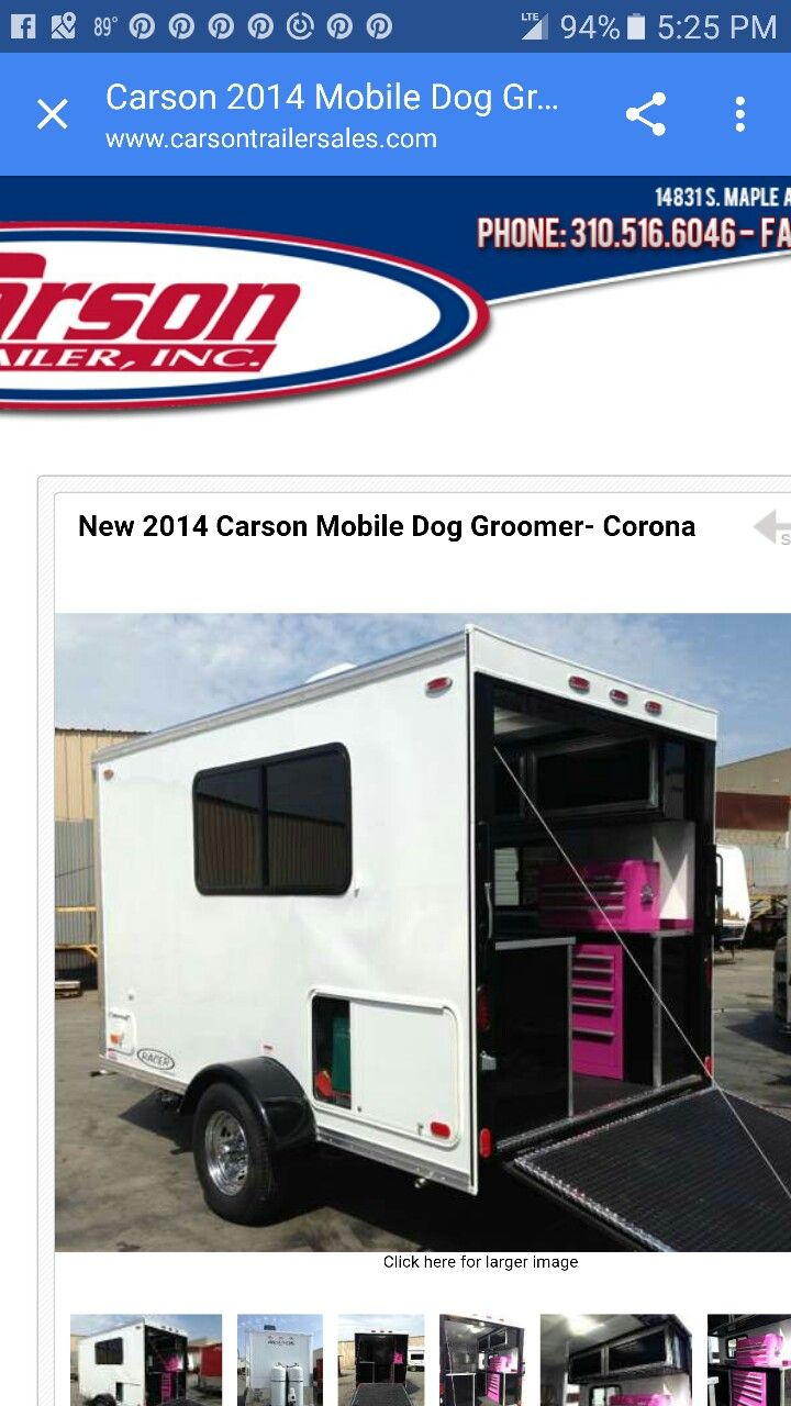 Mobile Grooming Trailers Mobile Pet Grooming Dog Groomers Dog Grooming Business