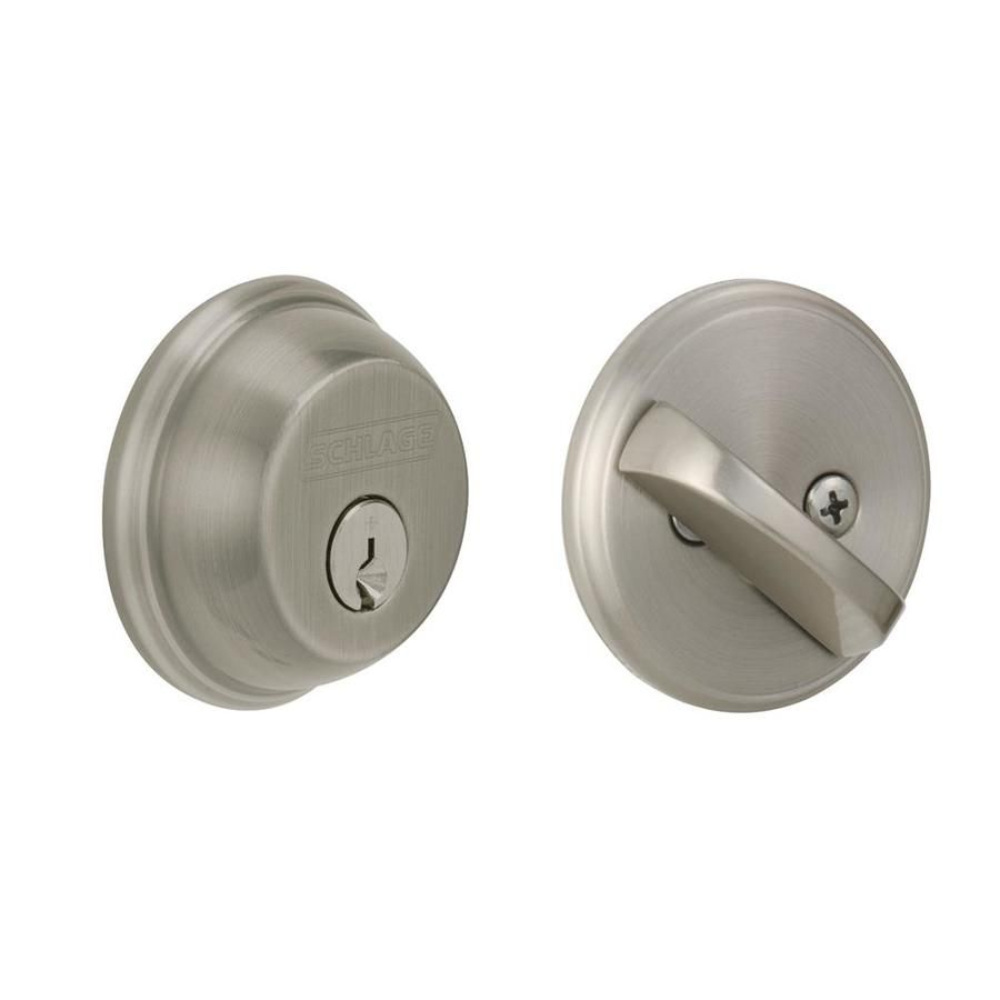 Schlage B60 Antique Pewter 1 Deadbolt   Use With Torino Handle
