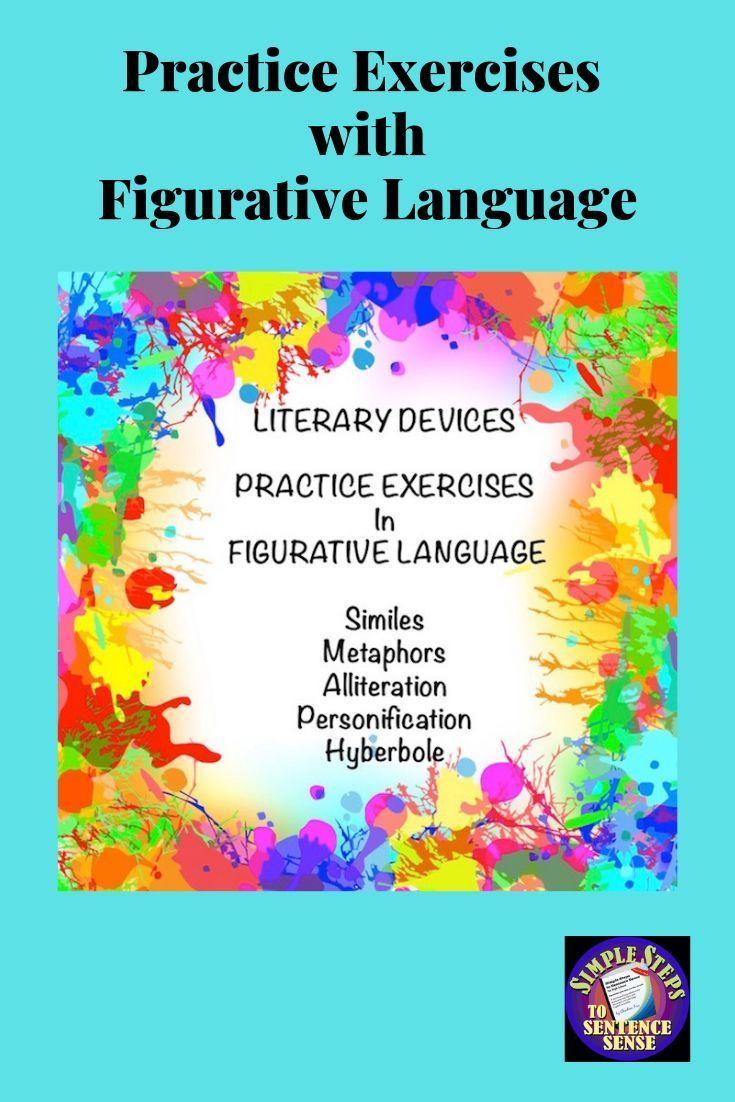 Figurative Language Writing Worksheets in Google Drive