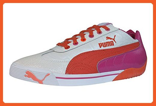 3d8f05b5955d0 Puma Speed Cat 2.9 Elegant Womens Leather sneakers / Shoes - White ...