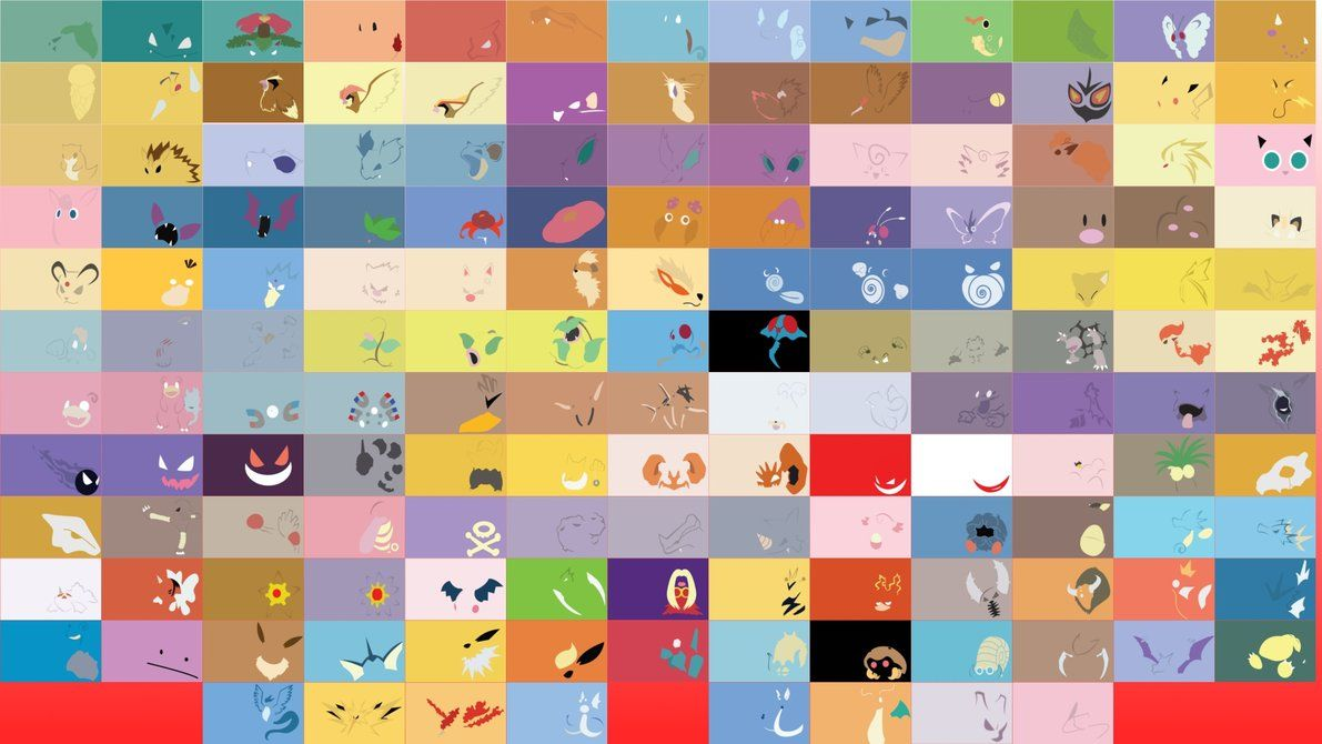 152 Pokemon Collage Cute Pokemon Wallpaper Cool Pokemon
