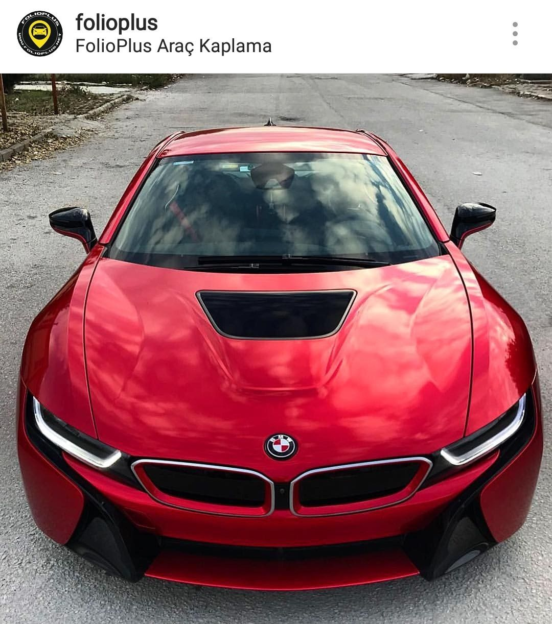 Candy Apple Red Gloss Bmw I8 Cars Sport Cars Suv Pick Up Bmw