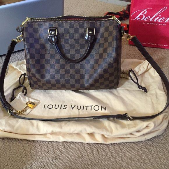 Authentic Louis Vuitton Speedy Bandouliere 30 Louis Vuitton Louis Vuitton Speedy Bandouliere Louis Vuitton Speedy