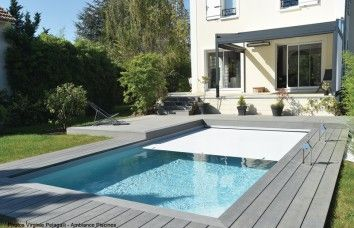 Meer dan 1000 idee n over piscine enterr e op pinterest - Modele piscine enterree ...