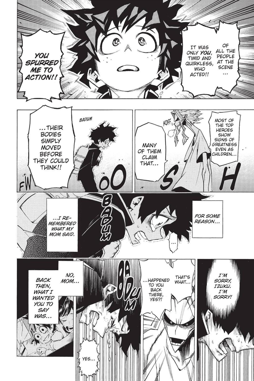 Boku No Hero Academia Chapter 1 Read Online Read Boku No Hero Academia Manga Online Hero Wallpaper Boku No Hero Academia My Hero Academia Manga