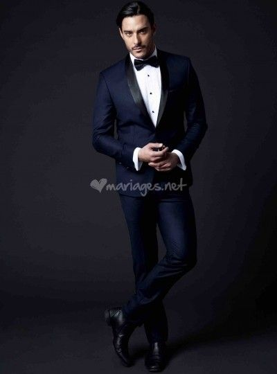 Fabuleux Smoking mariage bleu de Jeremiah | Men Fashion Wear | Pinterest  FV82