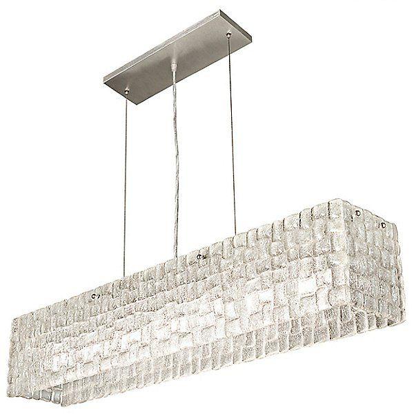 Fine Art Lamps Constructivism Linear Chandelier Light 846840st