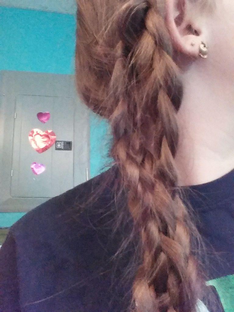 Mermaids braid with a braid twist  hair  Pinterest  Mermaid braid